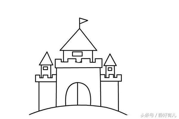 西方城堡结构图