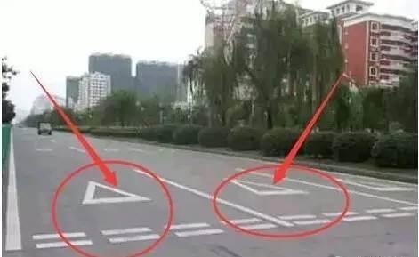 史上最全路面标志线图解 一分钟看懂道路交通标线_威帅车市
