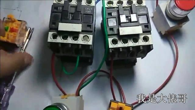电工知识:接触器互锁正反转,接线步骤一一解析