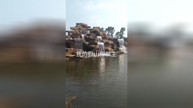 大型塑石假山制作 假山鱼池水景 假山鱼池水景_顺企网