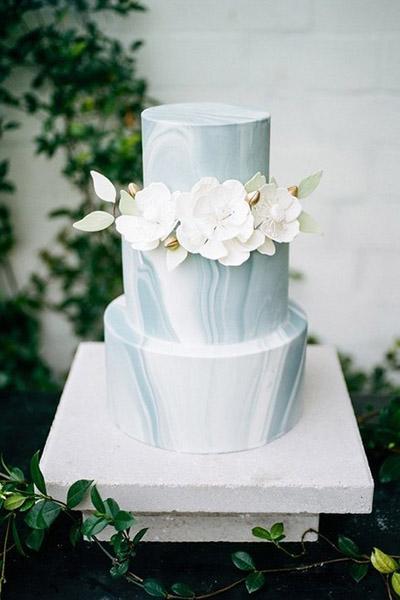 有興趣的非白色婚禮蛋糕 10種蛋糕款式美不勝收
