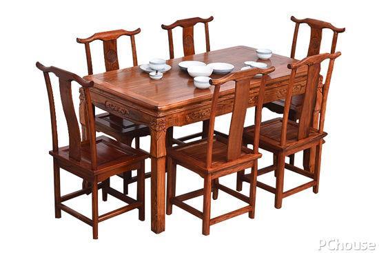实木圆餐桌图片大全