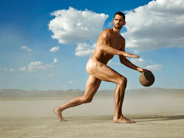 2015 ESPN运动员写真 勒夫+小乔丹全裸出镜