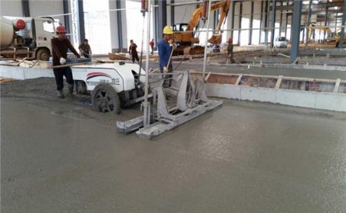 在混凝土激光整平机施工时应该做哪些工作?