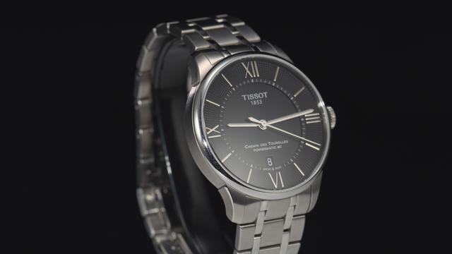 TISSOT 天梭 瑞士手表 杜鲁尔系列机械男表 T099.407.... -聚超值