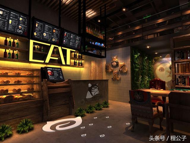咖啡厅应该怎么装修才能有时尚简约奢华又内涵的风格呢?