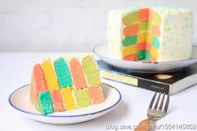 優選配方 | 多彩多漂亮:彩虹蛋糕