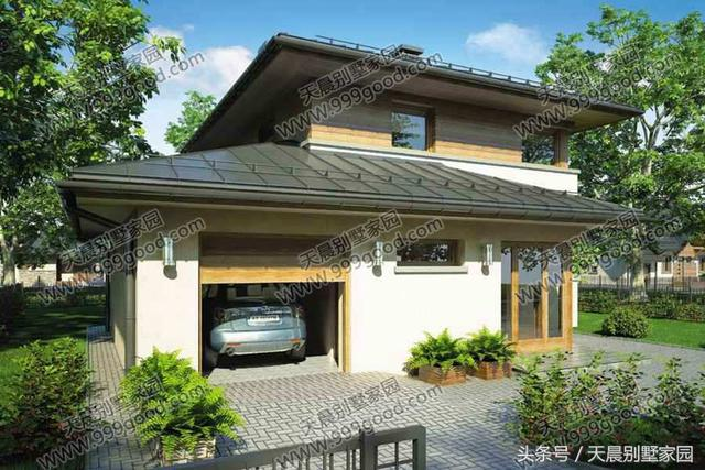 新农村二层别墅设计图