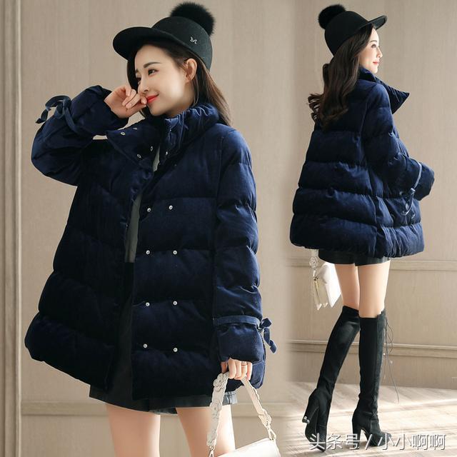 小款羽绒棉服女短款轻薄小棉袄大码新款女士冬装外套女装棉衣
