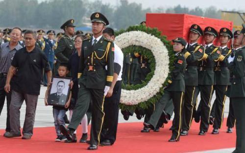 维和烈士杨树朋:妻子在等他回家,儿子长大后想像爸爸一样当兵