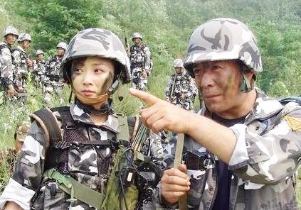 陆军迷彩图片