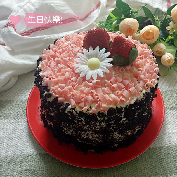 自制生日蛋糕(超簡單)