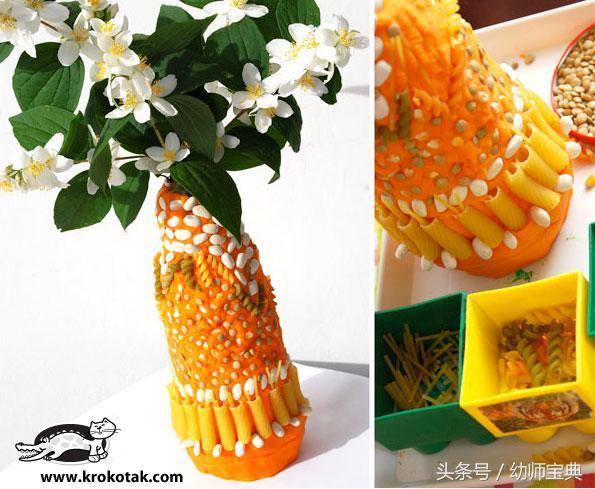 陶艺泥塑花瓶创意作品