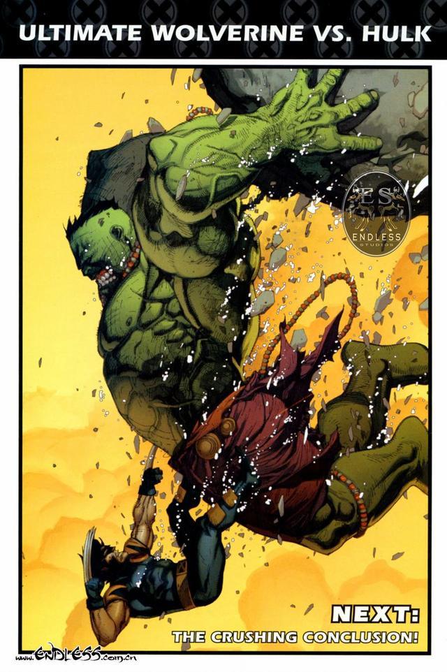 解读漫画《金刚狼大战绿巨人》(2)