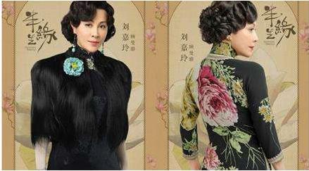 张曼玉旗袍装最经典