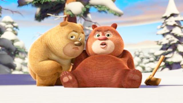《熊出没奇幻空间》之可爱的熊大熊二 - 手... - 桌面天下手机版