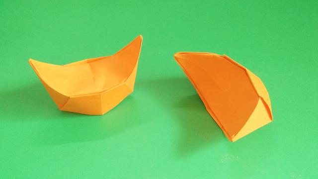 折纸元宝的折法图解