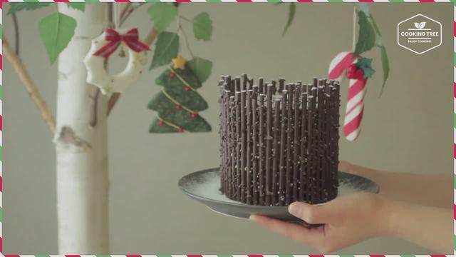 树桩蛋糕 Tree stump cake