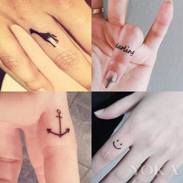 2016手指纹身图案大全 26款图案更潮更有味儿 - 爱秀美