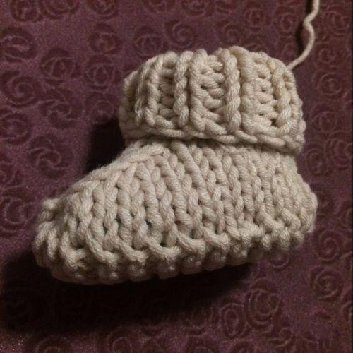宝宝鞋编织图解,简单易学,还不到2个小时就钩好了