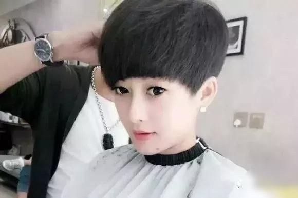 个性盖盖头女发型图片