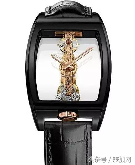 CORUM昆仑表特别呈现金桥系列彩虹腕表