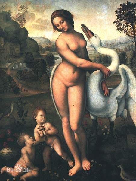西方女人油画作品欣赏