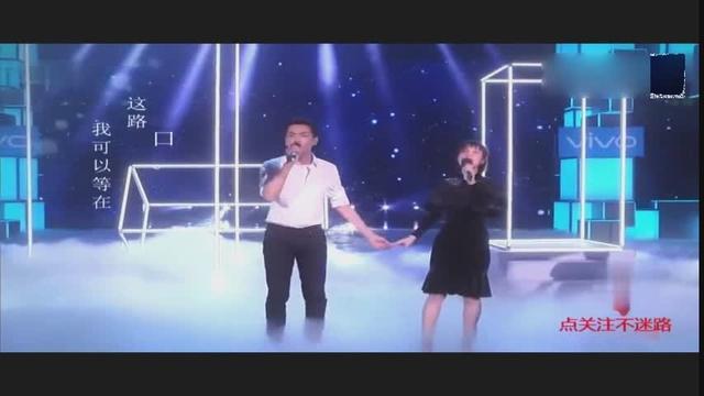 吴昕和张若昀合唱《追光者》,好听到耳朵怀孕了!