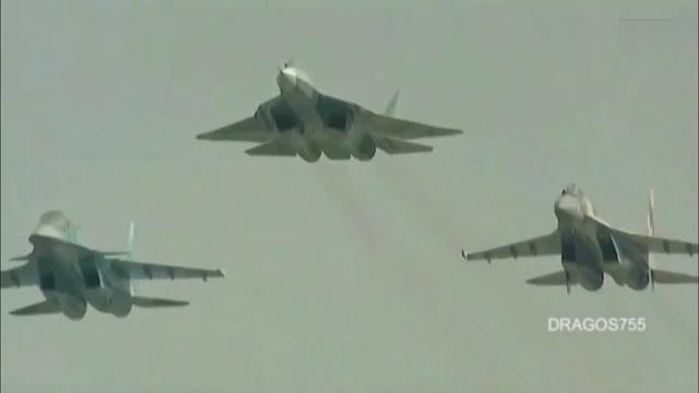 涨姿势!一组图教你识别中国海空军苏式战机型号!_手机搜狐网