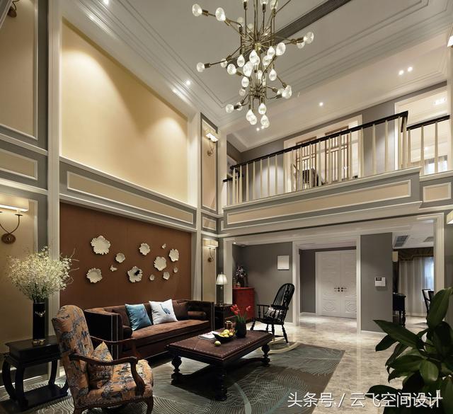 看完闺蜜家的三层大复式中式装修,真想搬到他家里去住!