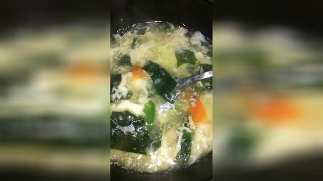 海带黄豆汤图片