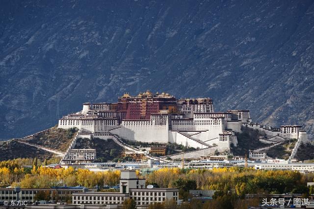 西藏布达拉宫图片拍摄