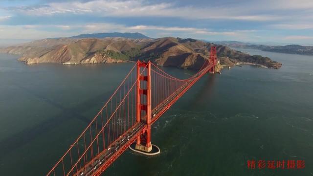 """带你看看美国旧金山的""""金门大桥"""""""
