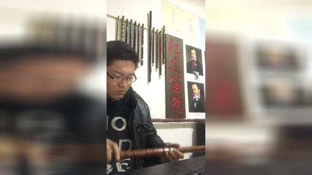 中国竹笛名曲荟萃 歌谱简谱网