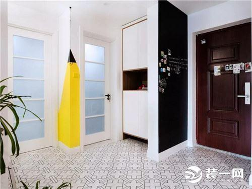 80平米两室一厅装修效果图_80平米现代装修样板间-装酷网