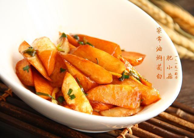 家常素菜菜谱,油焖茭白,做法简单,美味下饭,比肉好吃,吃不够