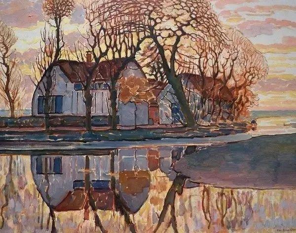 荷兰画家蒙德里安简介 蒙德里安作品如何赏析? -趣历史