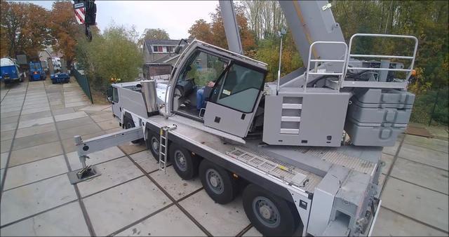 看看这台利勃海尔1250吊车性能如何