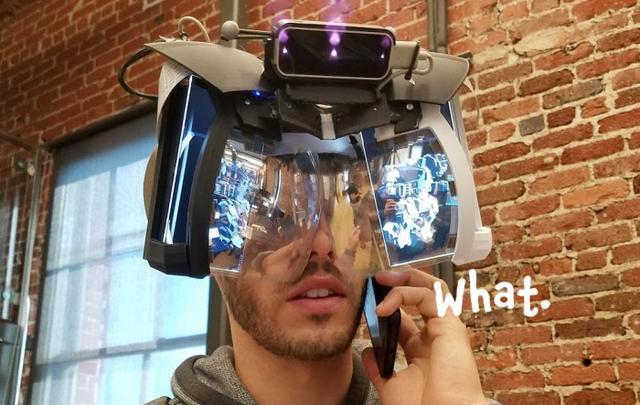 Leap Motion AR头显看起来很疯狂但可能是奇迹