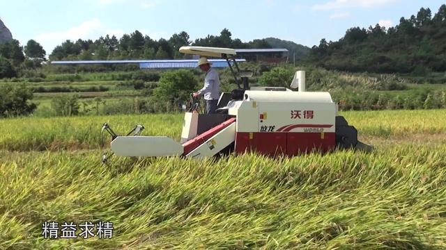 江苏沃得巨龙系列4LZ-3.5履带式谷物联合收割机价... - 买农机网