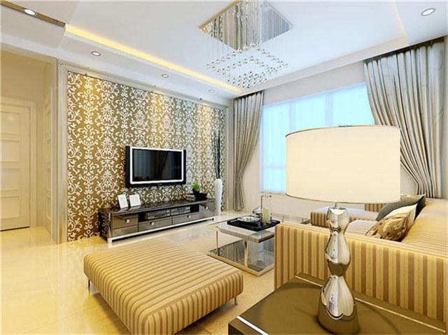 现代客厅电视背景墙效果图36款 给你时尚客厅装修!
