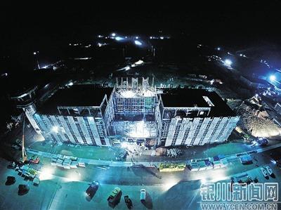 宁夏银川河东机场图片