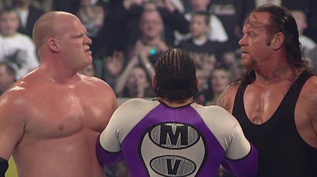 送葬者WWE职业终结最精彩的五大安排,毁灭兄弟重组,上演棺材赛