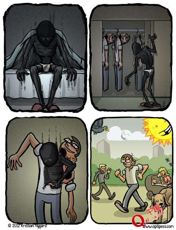 一组只有抑郁症才看懂的照片,看懂一半就要注意了