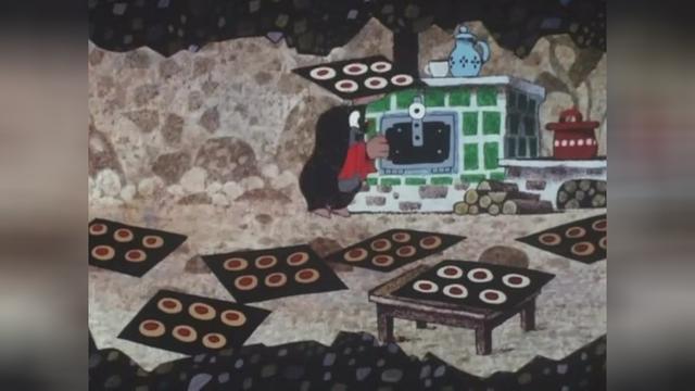 鼹鼠的故事:鼹鼠为生日庆,做蛋糕!