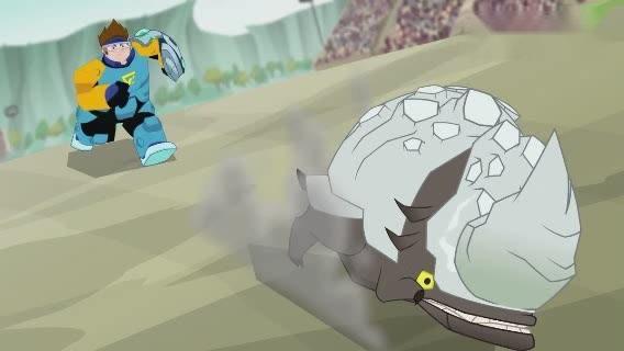 兽王争锋:gogo战队的捕捉精灵秀太帅了,分分钟抓捕几十只灵兽
