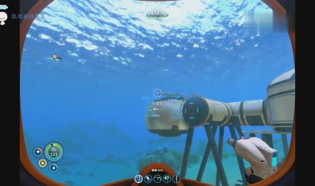 深海迷航:成功建成月亮池,把海蛾号放在里面果然感觉高大上!