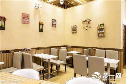 小型餐饮店面装修效果图_个性餐饮店面装修设计图