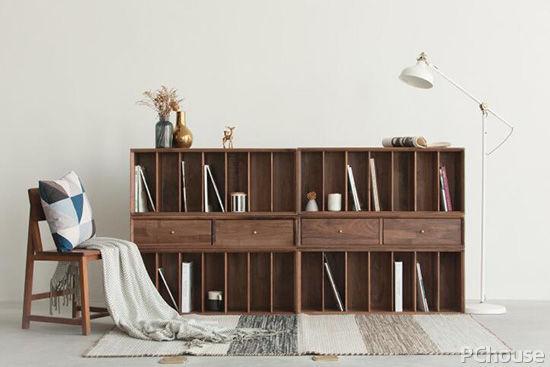 书柜设计图纸及尺寸
