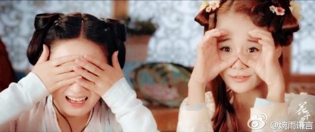 《花千骨》系列之最可爱丸子头·赵丽颖。